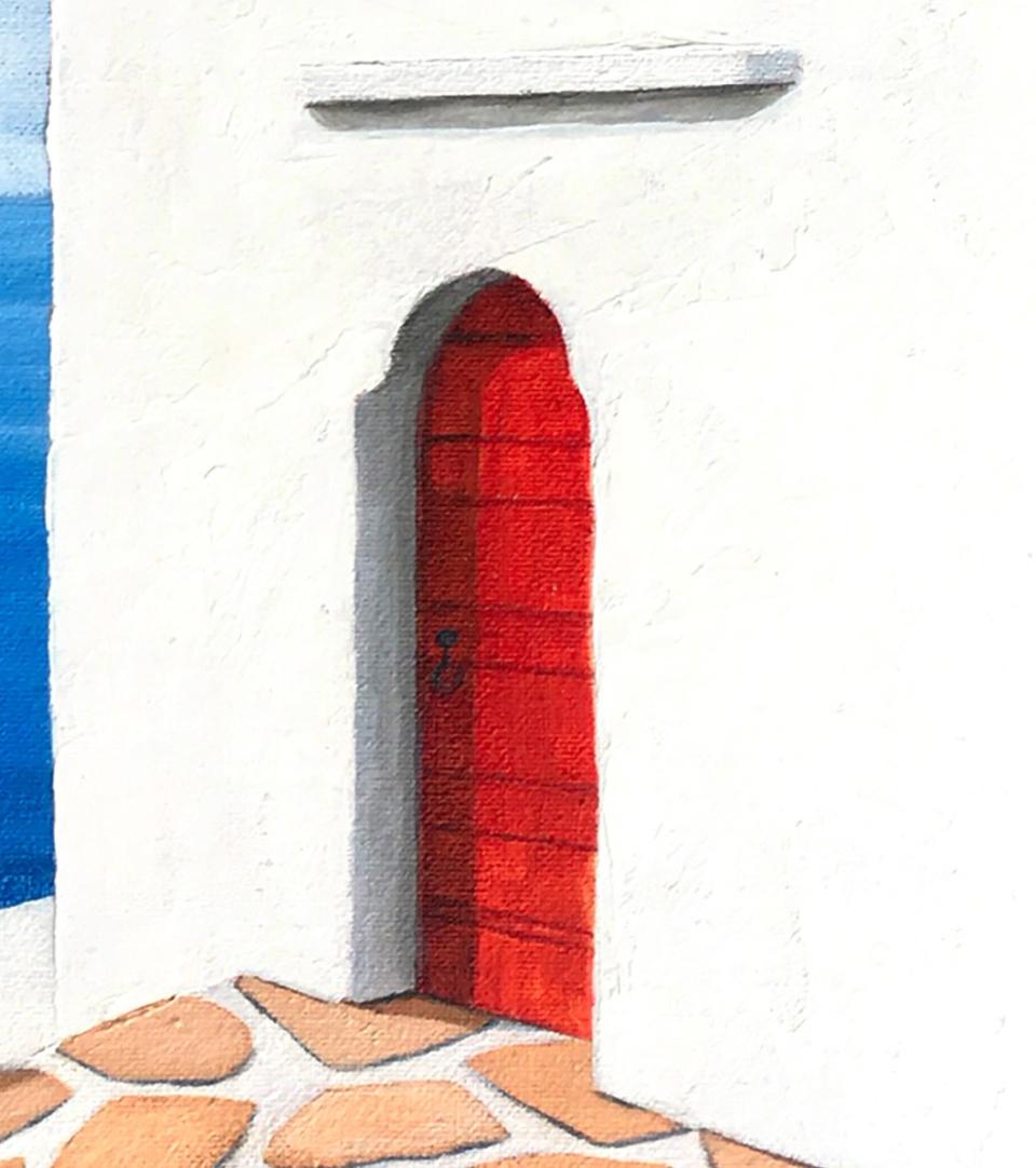 RED DOOR INSET