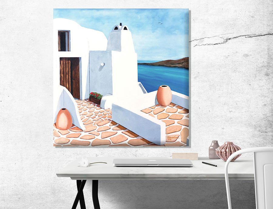 oil-painting-santorini-getaway-mary-grden